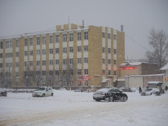 Дмитров, снег 2018